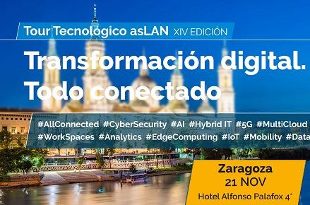 Zaragoza cierra el ciclo de Foros del Tour Tecnológico @asLAN 2019.