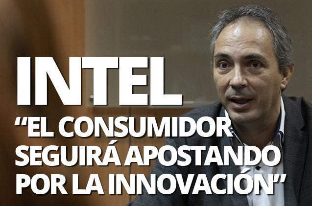 Jesús Sánchez, consumer sales director de Intel para el suroeste de Europa
