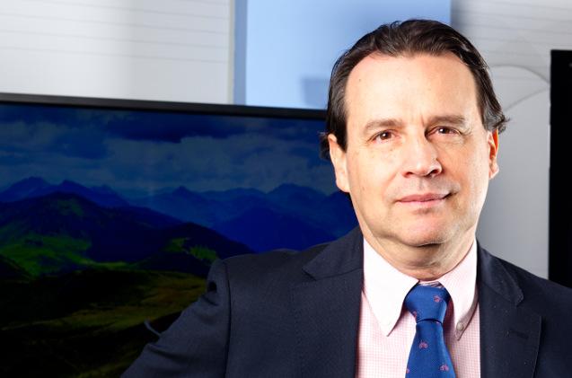 Emilio Dumas, director general de Dynabook.