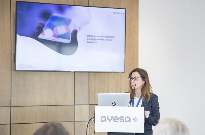 María Pérez Naranjo, directora general de Transformación Digital de la Junta de Andalucía