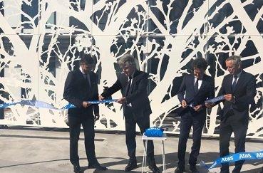 inauguración laboratorio Atos