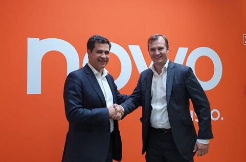 Miguel Venâncio, presidente de NOWO/Oni y Meinrad Spenger, consejero delegado del Grupo MásMóvil.