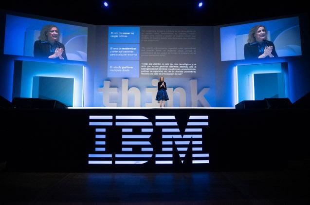 Marta Martínez, CEO de IBM.