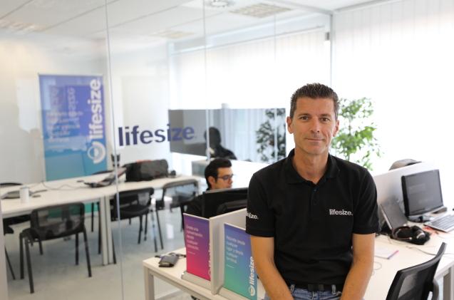 Juan Aracil, responsable de Lifesize en España.