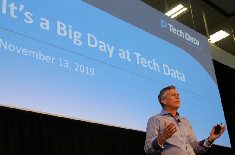 Rich Hume, CEO de Tech Data.