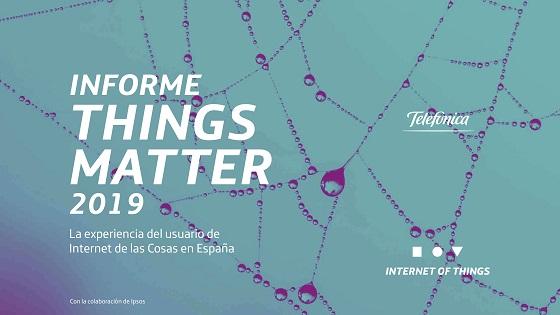 Things Matter 2019: la experiencia del usuario de IoT en España,