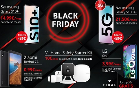 Vodafone se prepara para el Black Friday