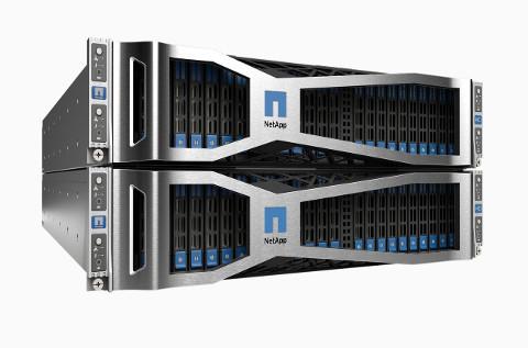 Equipos de almacenamiento de NetApp.