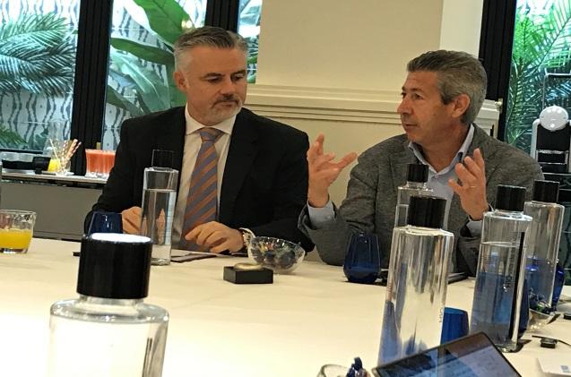 Javier Bustillo, director de la división cloud, y Jaime Soler, country manager de Ingram Micro