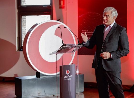 Daniel Jiménez, Director de Vodafone Business en España.