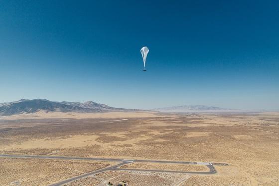 Internet móvil con globos aéreos en Perú