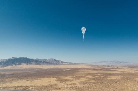 Internet móvil con globos aéreos en Perú.