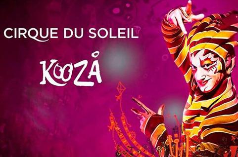 Kooza, del Circo del Sol, disfrutará de Wi-Fi de alta velocidad