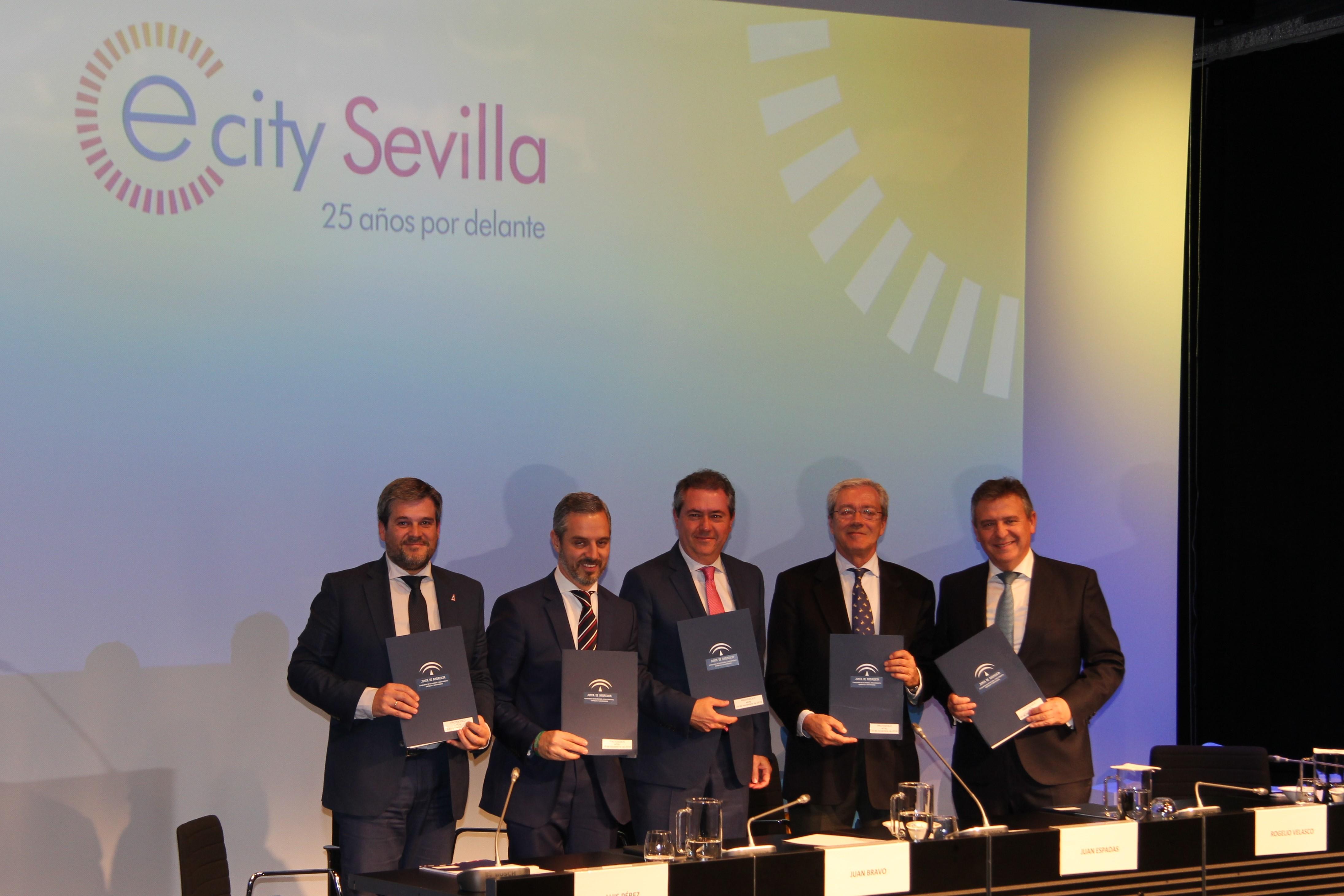 Firma del proyecto #eCitySevilla.
