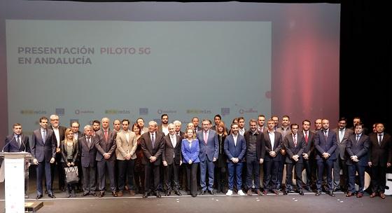 Presentación del proyecto Piloto 5G en Andalucía