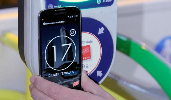 El pago móvil se extiende a los 2.075 autobuses de la EMT Madrid.