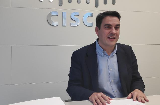 Gabriel Maestroarena, director de canal de Cisco