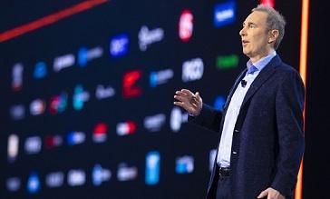 Andy Jassy, CEO de la compañía, durante la segunda jornada de Re:invent 2019 en Las Vegas.