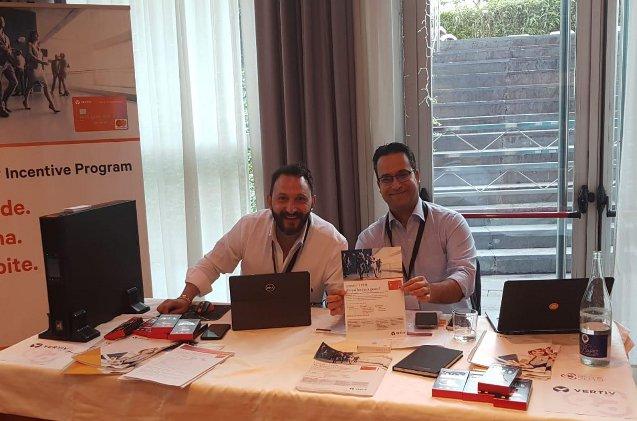 Sergio Ferrer y Luis Casero de Vertiv