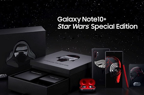 Galaxy Note10+ Star Wars Special Edition.