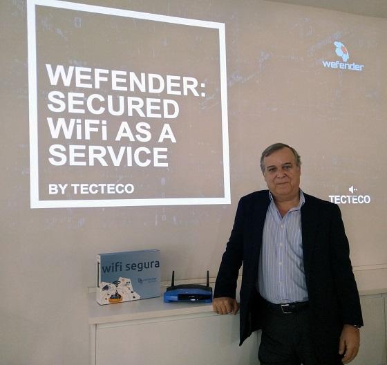 Wefender: Secure WiFi as a service para pymes y autónomos