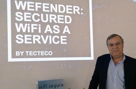 Wefender: Secure WiFi as a service para pymes y autónomos.