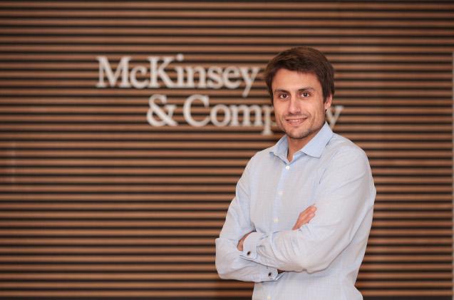 Carlos de la Peña, socio de McKinsey.