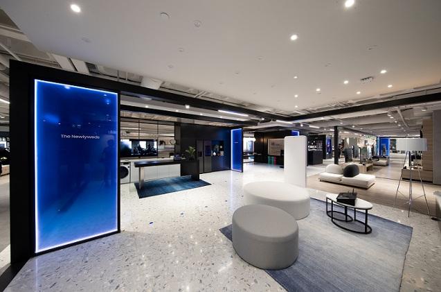 Tienda de Samsung en El Corte Inglés de Valencia.