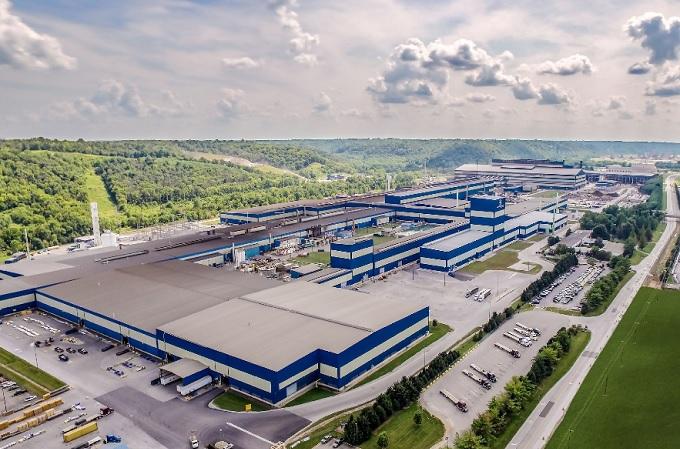 Fábrica de Acerinox en Stainless (Kentucky-EEUU)