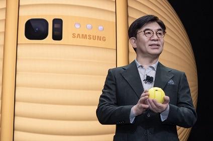 H.S. Kim, presidente y CEO de Samsung Electronics.