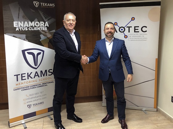 Aotec y Tekams potencian la gestión comercial en las pymes de teleco.