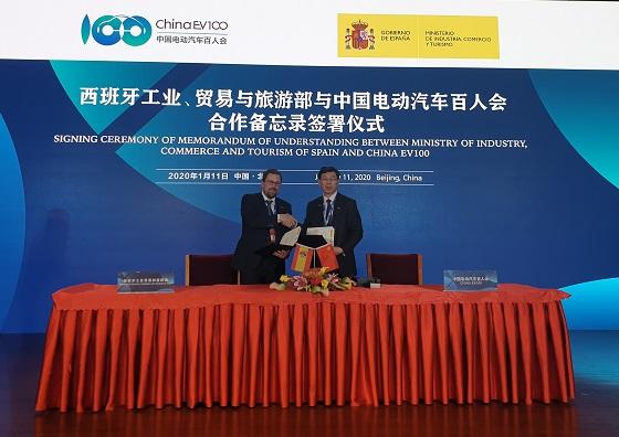 Acuerdo España y China en movilidad conectada