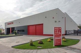 Vista del nuevo almacén logístico y de distribución de Salicru.