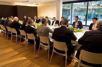 Executive lunch realizado en Barcelona por Data Center Market en colaboración con Nutanix.