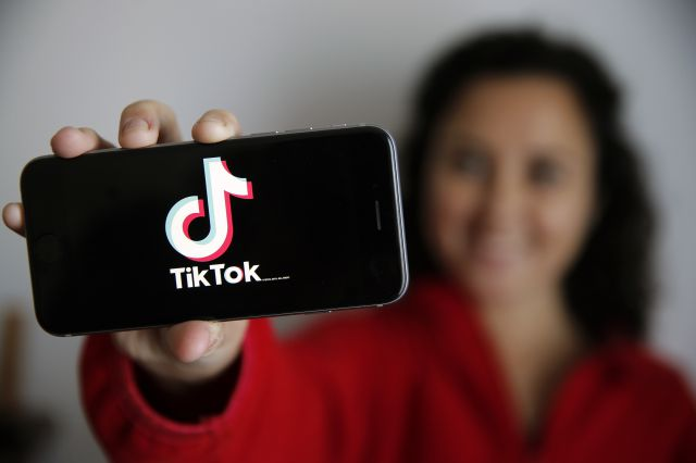 Una usuaria de TikTok