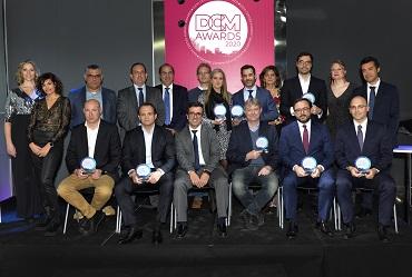 foto de los premiados en la edición 2020 de los DCM Awards