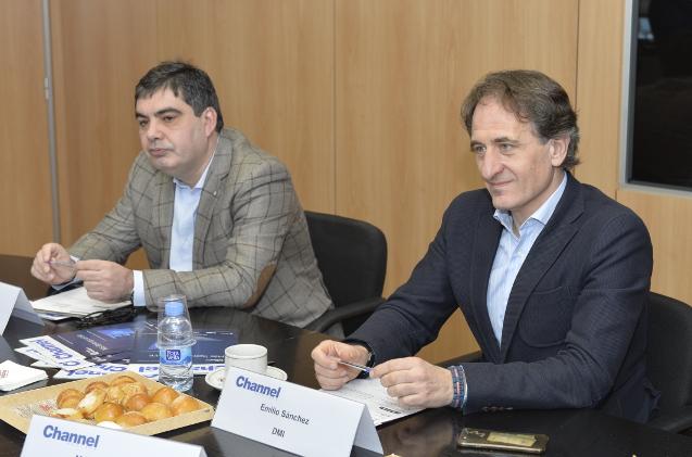 Javier Modúbar, de Ingecom, y Emilio Sánchez-Clemente, de DMI.