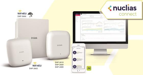 D-Link Nuclias Connect: gestión unificada de redes Wi-Fi corporativas