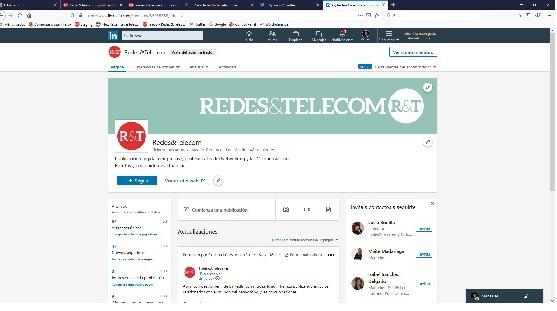 Redes&Telecom abre perfil de LinkedIn