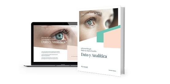 Informe Minsait sobre Madurez Digital en España 2019, centrado en Dato y Analítica.