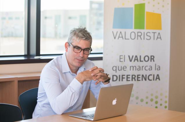 Diego Colón, CEO de Valorista