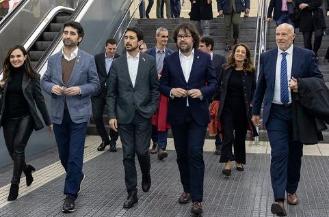 Barcelona tendrá trenes conectados por 5G para el MWC.