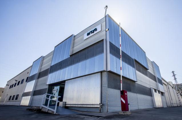 Exterior del centro de datos de Arsys en Logroño.