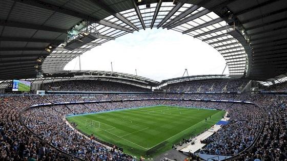 Etihad Stadium, el estadio del Manchester City, mejora su conectividad con Cellnex.