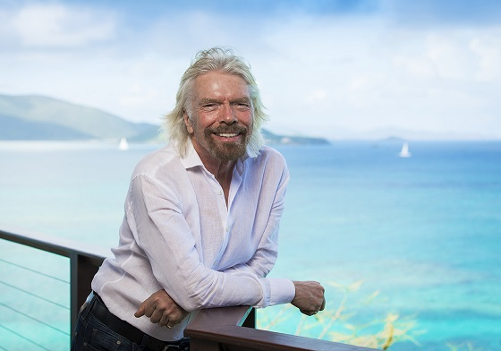Sir Richard Branson, fundador del Grupo Virgin.