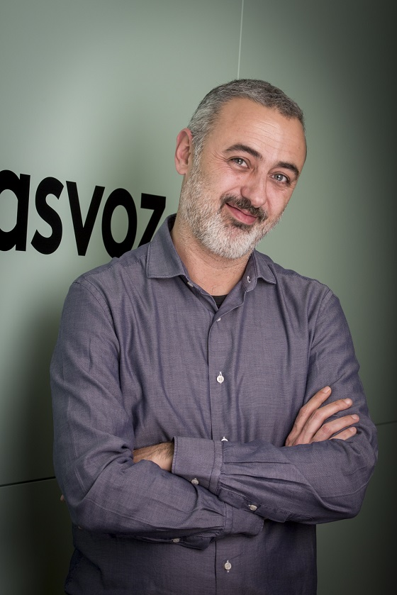 Santi Vernet, director comercial de masvoz.