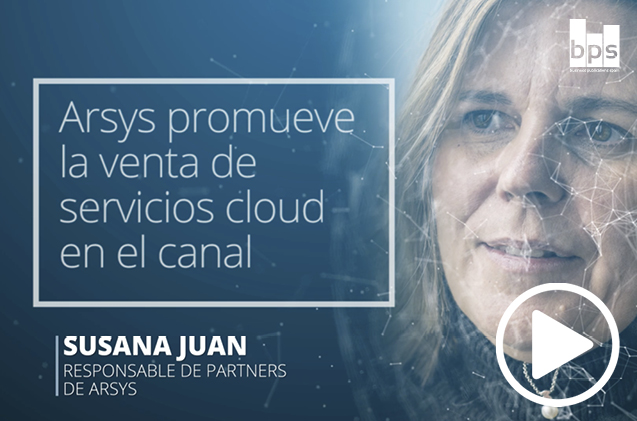 Susana Juan, responsable de partners de Arsys.