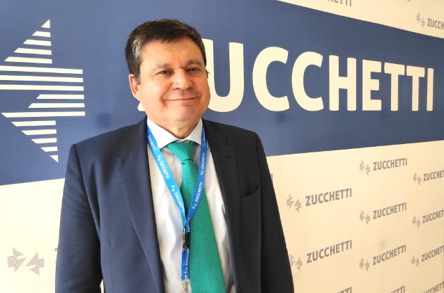 Justino Martínez, director general de Zucchetti
