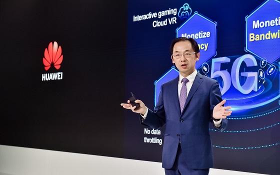 Ryan Ding, presidente de la Unidad de Negocio de Carrier de Huawei.