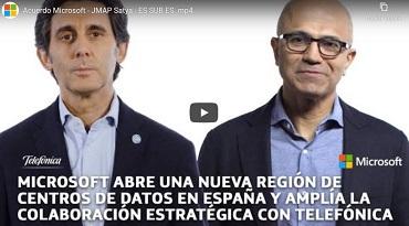Microsoft abre una nueva región de centros de datos en España